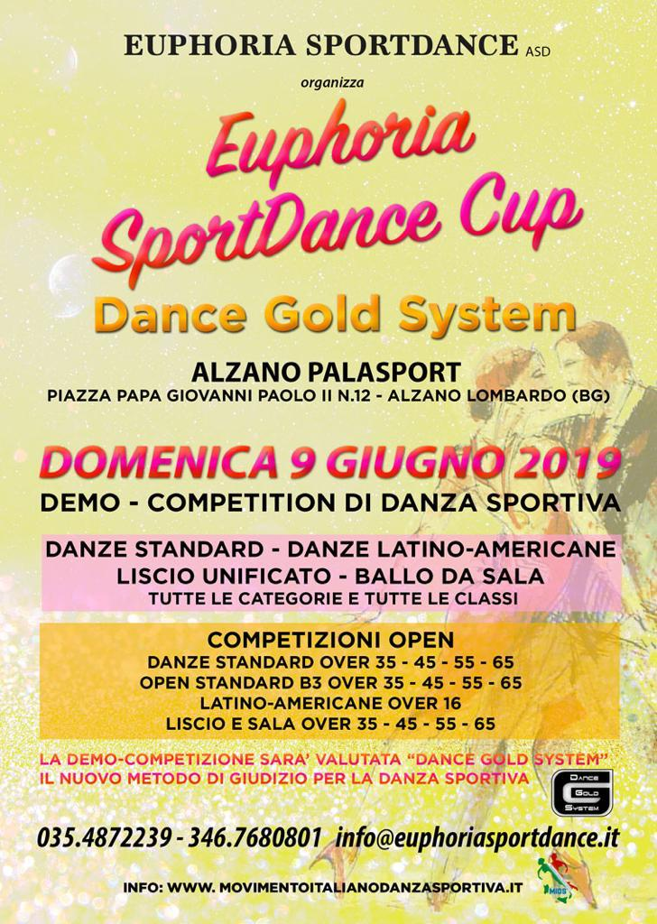 EUPHORIA SPORTDANCE CUP DANCE GOLD SYSTEM